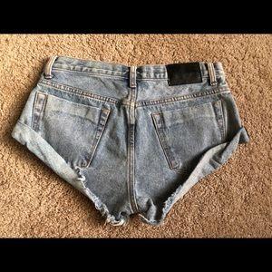 One teaspoon bandit shorts size 27